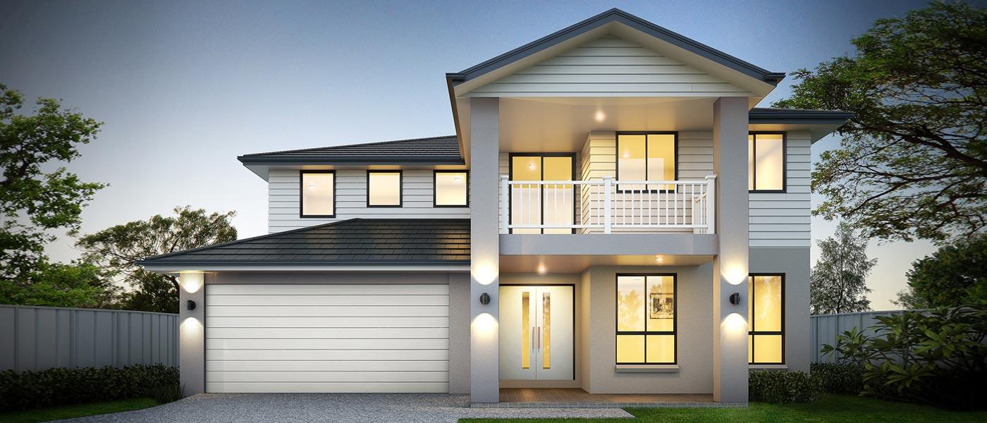 Calais Home Design - Double Storey   Marksman Homes - Illawarra Home Builder