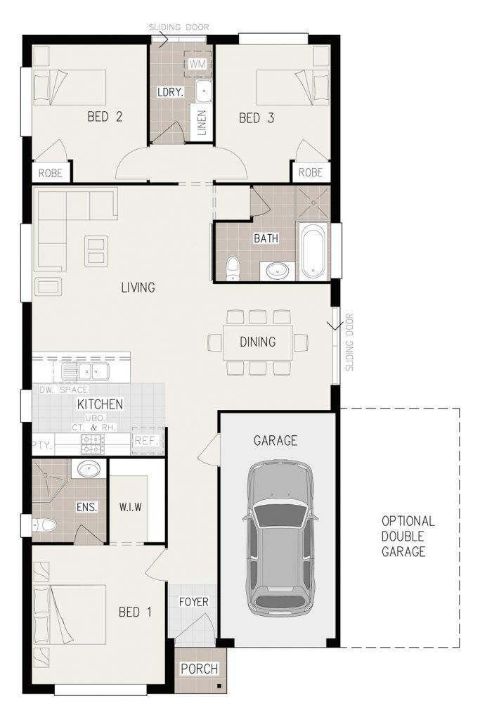 Floorplan - Imagin-3 Home Design | Inspirations Range - Single Storey