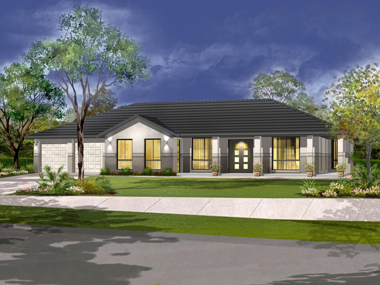 The Highlander Home Design - Acreage | Marksman Homes - Illawarra Home Builder