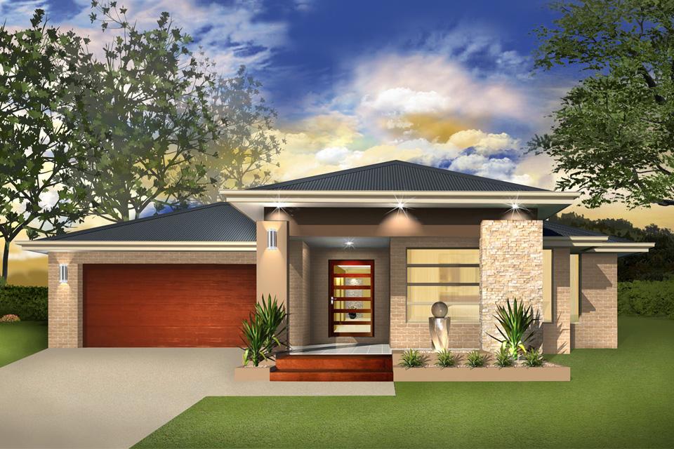 Single Storey - Cascade I Home Design - Vogue Facade