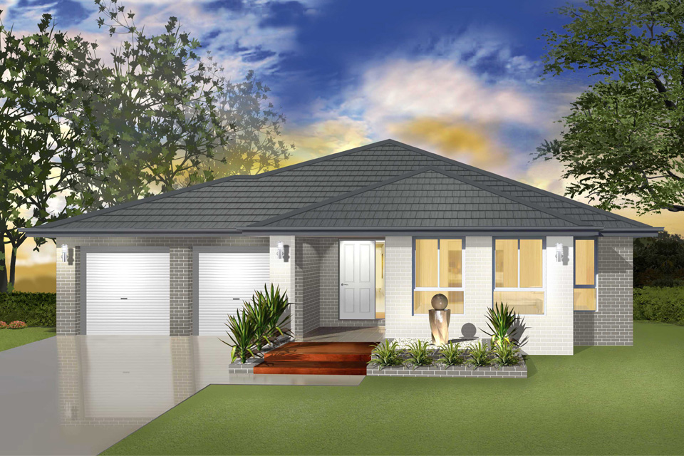 Single Storey - Cascade I Home Design - Traditional Facade