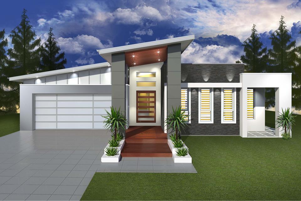 Single Storey - Cascade I Home Design - Modern Facade