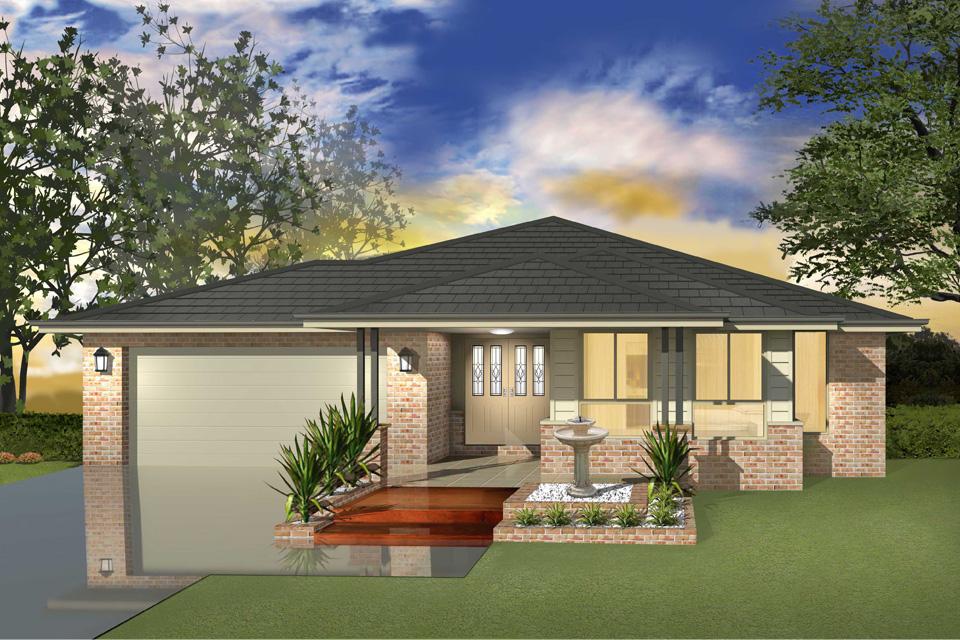 Single Storey - Cascade I Home Design - Contemporary Facade