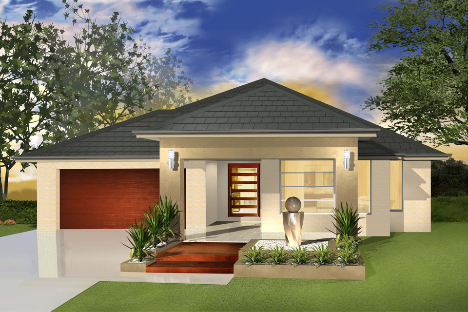 Single Storey - Cascade I Home Design - New Age Facade