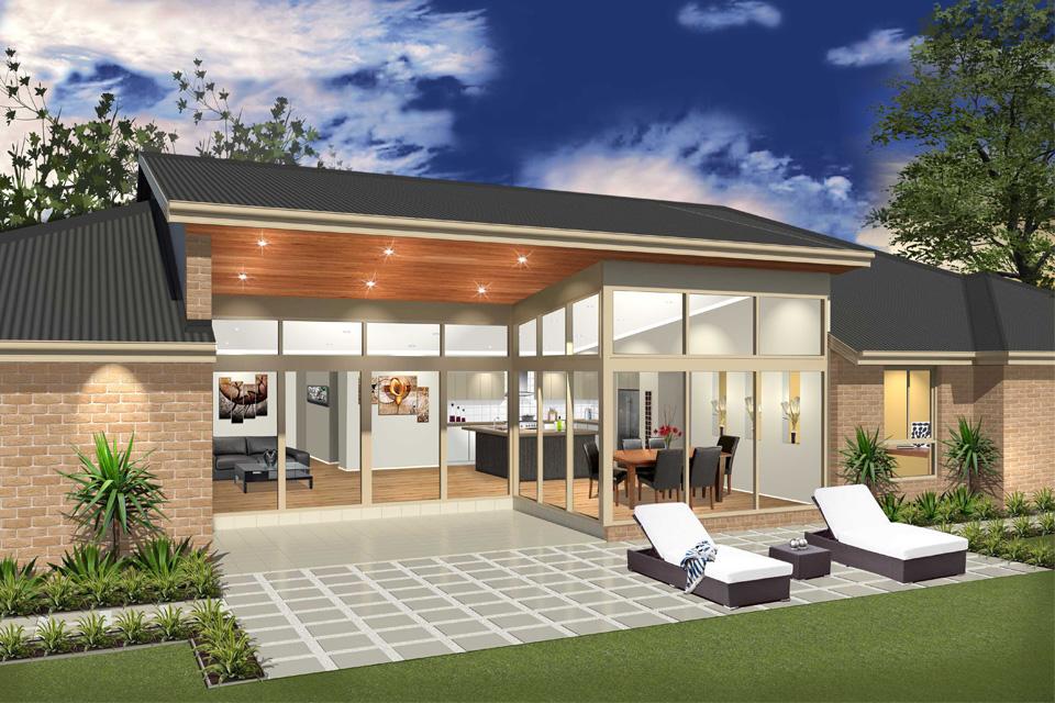 Single Storey - Cascade I Home Design - External
