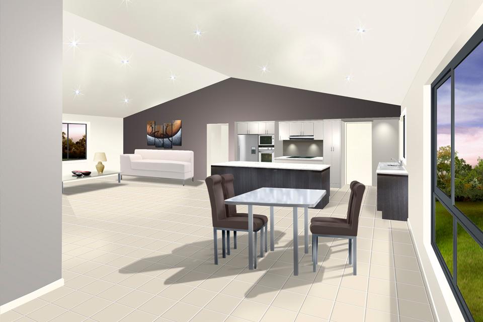 Single Storey - Seachange Home Design - Internal