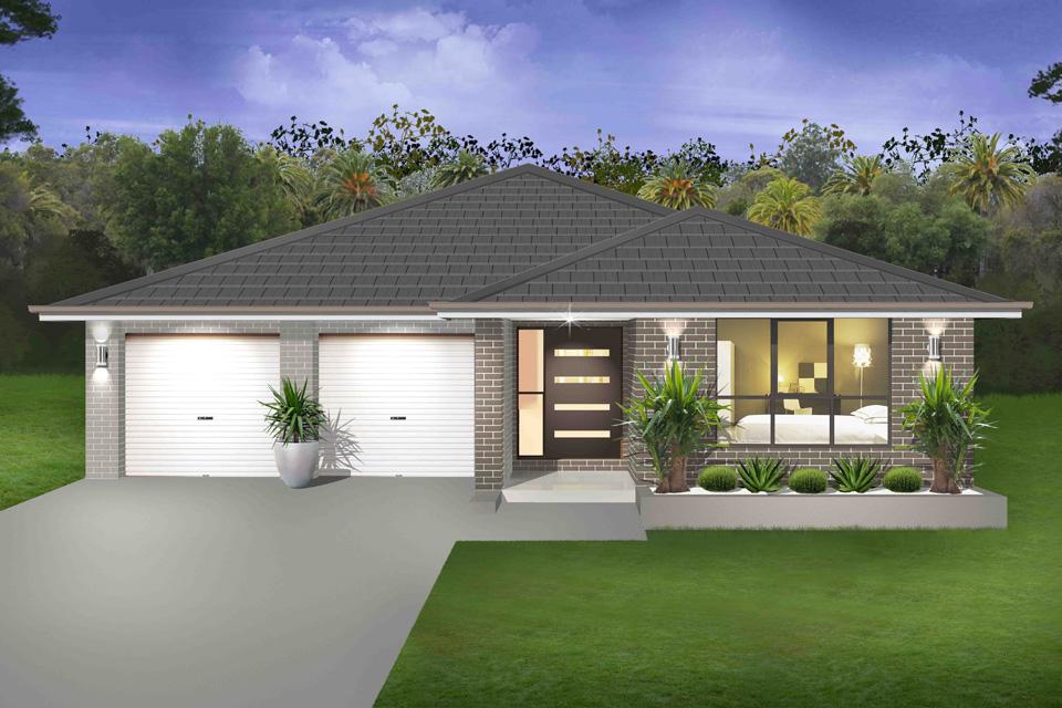 Single Storey - Seachange Home Design - Traditional Facade