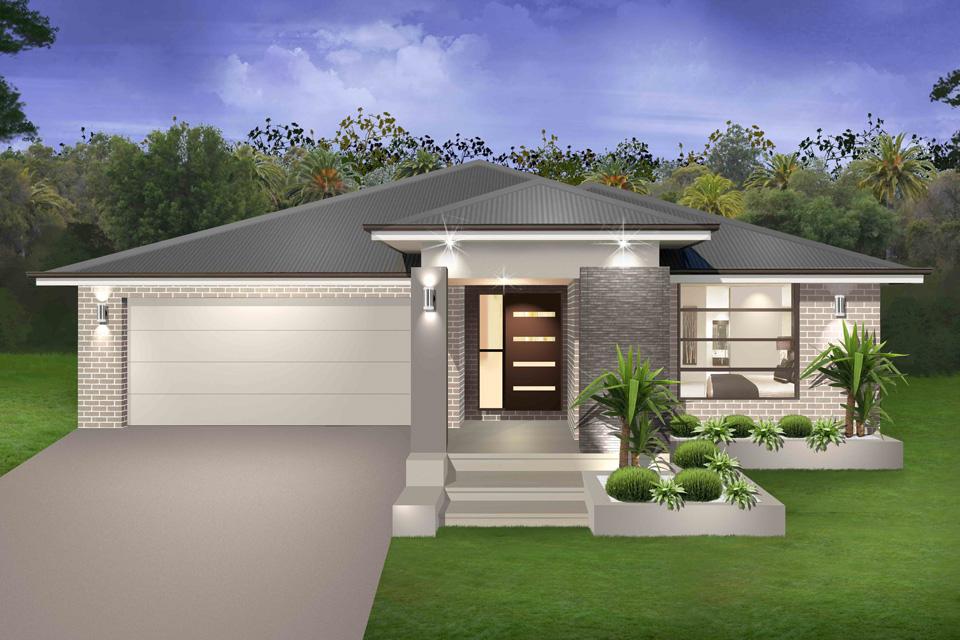 Single Storey - Seachange Home Design - Vogue Facade