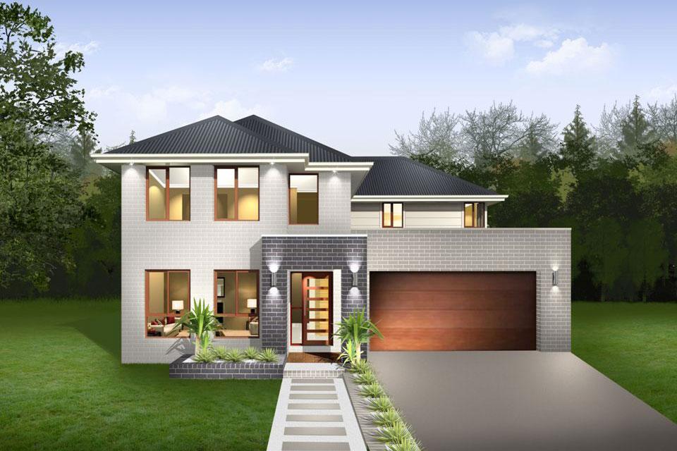 Double Storey - Lindeman Home Design - Facade - New Age