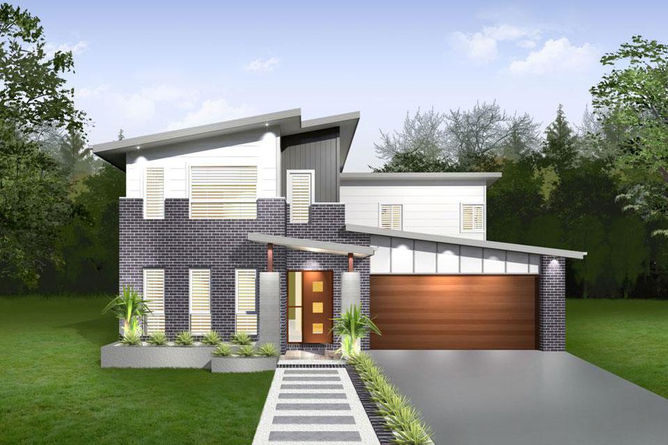 Double Storey - Lindeman Home Design - Facade - Vogue