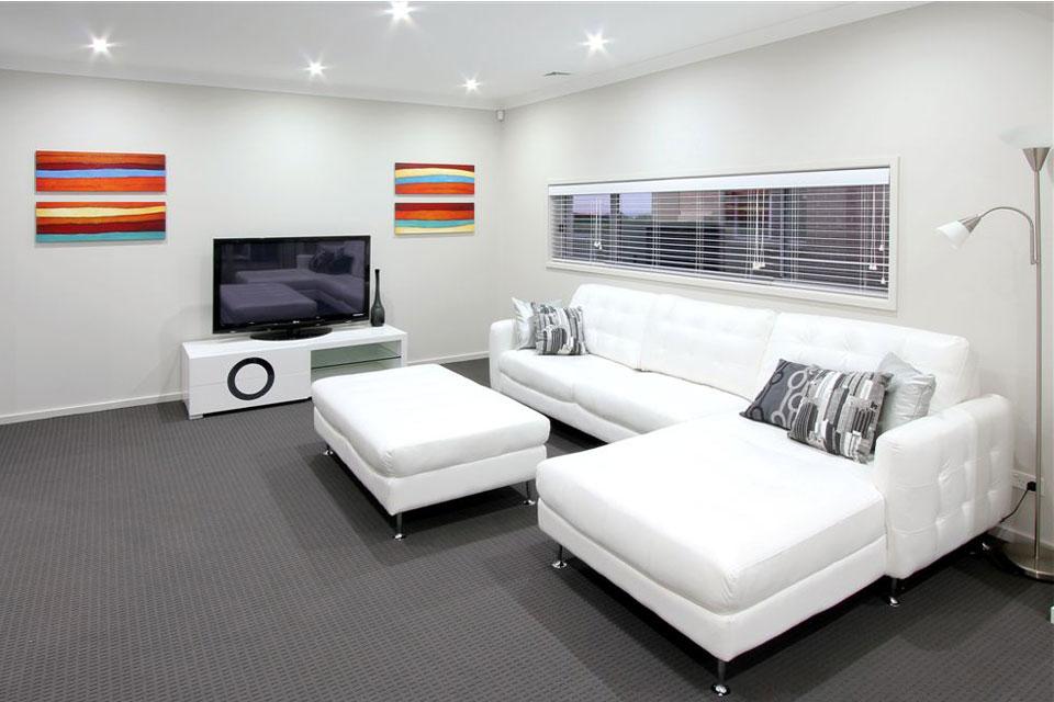 Double Storey - Lindeman Home Design - Internal - Living