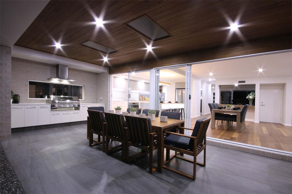 Double Storey - Lindeman Valley Home Design - External - Alfresco
