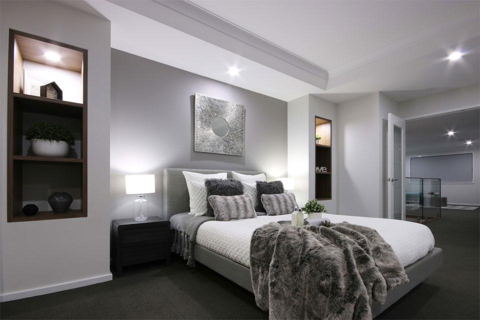 Double Storey - Lindeman Valley Home Design - Internal - Main Bedroom