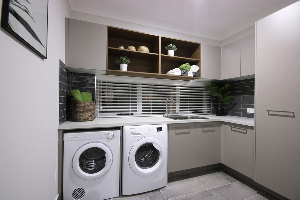 Double Storey - Lindeman Valley Home Design - Internal - Laundry