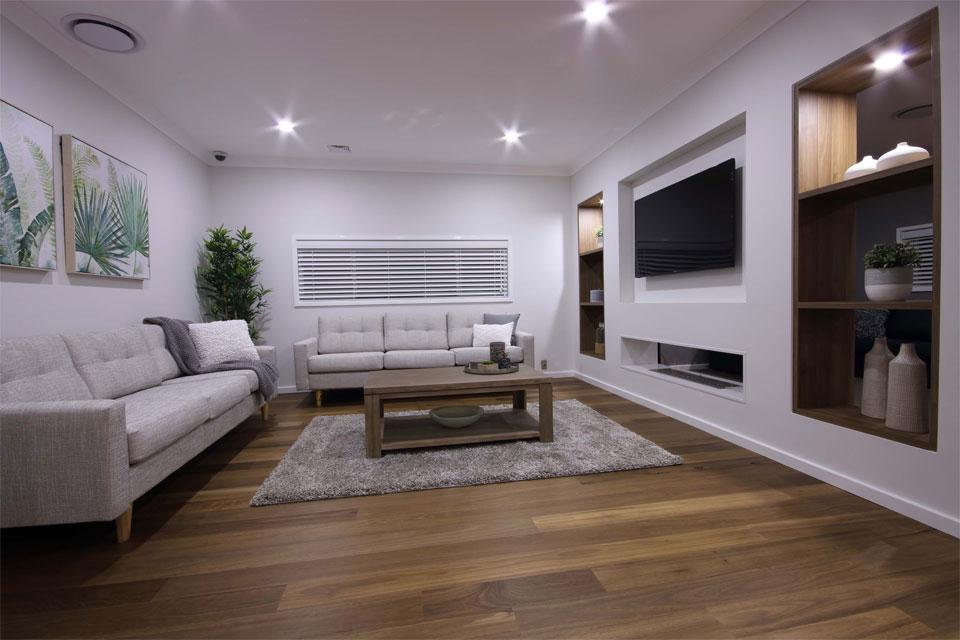 Double Storey - Lindeman Valley Home Design - Internal - Living