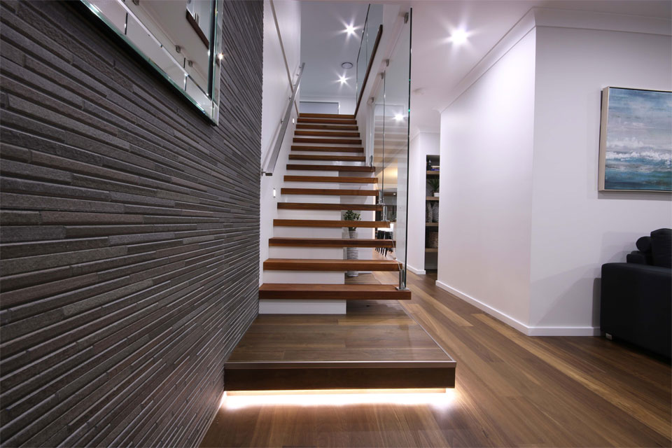 Double Storey - Lindeman Valley Home Design - Internal - Stairs