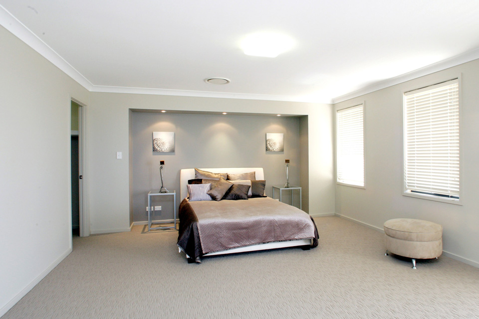Madison Home Design - Double Storey   Internal - Main Bedroom