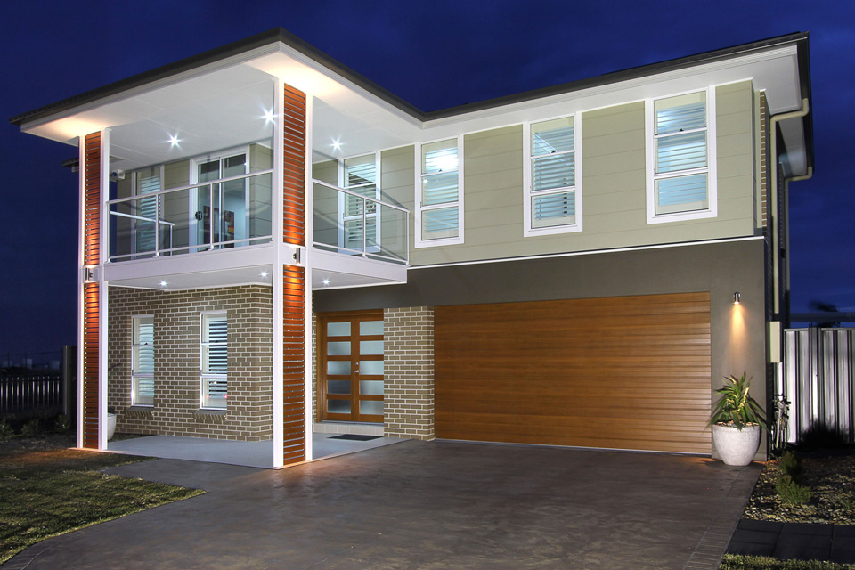 Seacrest Home Design - Double Storey   External