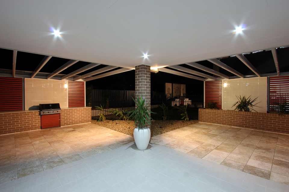 Seacrest Home Design - Double Storey   External - Alfresco