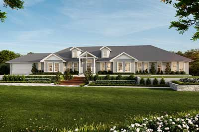 The Estate House Home Design - Acreage | Marksman Homes | Illawarra Home Builder