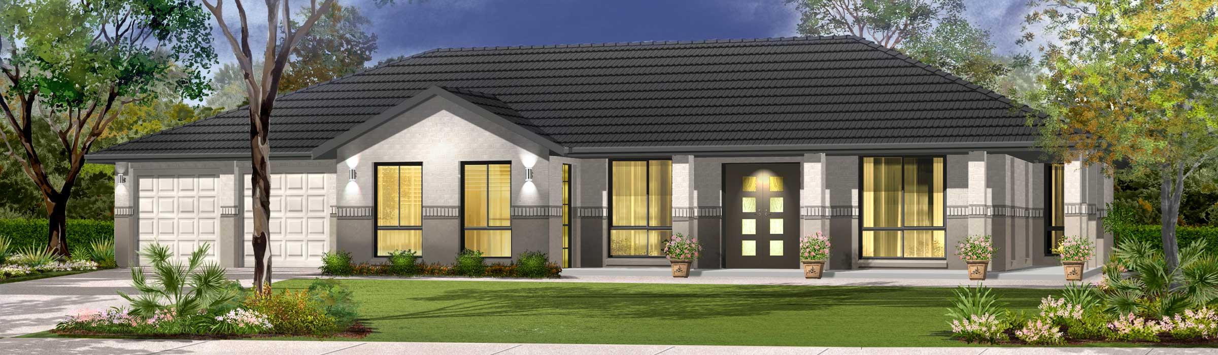 Highlander Home Design - Acreage | Marksman Homes | Illawarra Home Builder