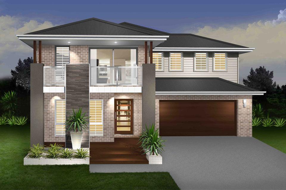 Double Storey - Daintree Cove Home Design - Vogue Facade