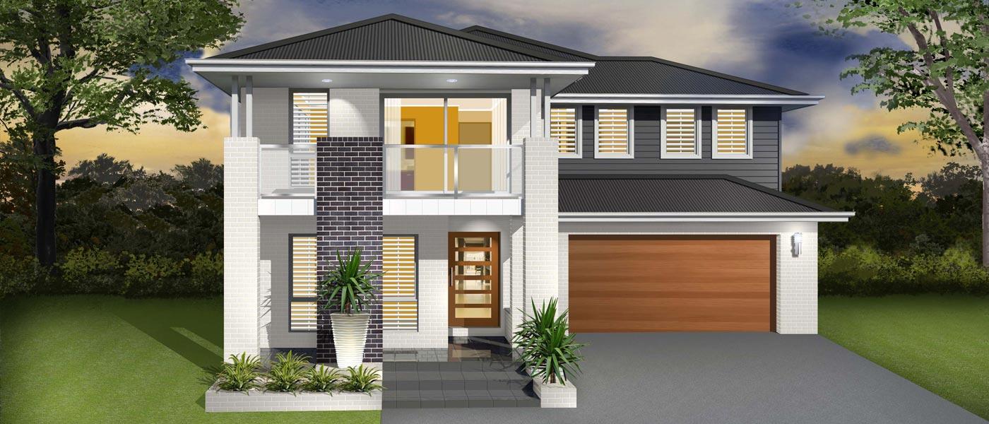 The Daintree Home Design - Double Storey   Marksman Homes - Illawarra Home Builder