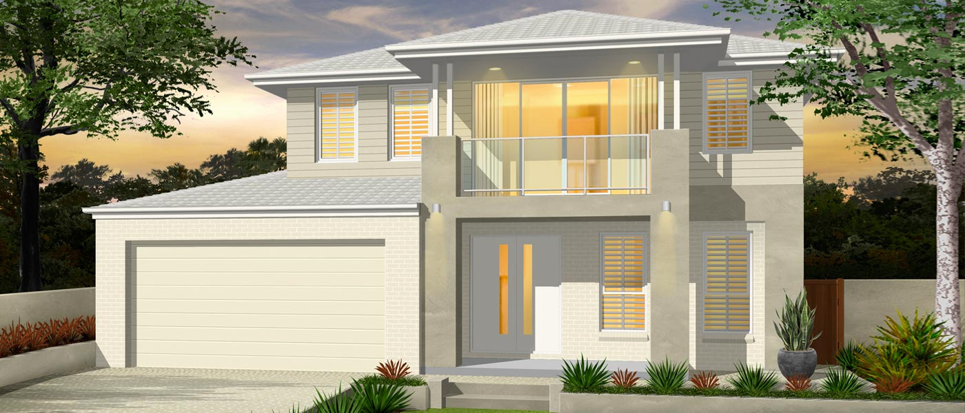Madison Home Design - Double Storey   Marksman Homes - Illawarra Home Builder
