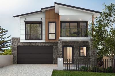 Scarborough Home Design - Double Storey | Marksman Homes - Illawarra Home Builder