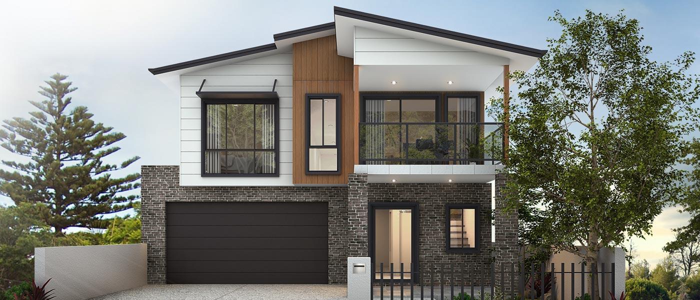 Scarborough Home Design - Double Storey   Marksman Homes - Illawarra Home Builder