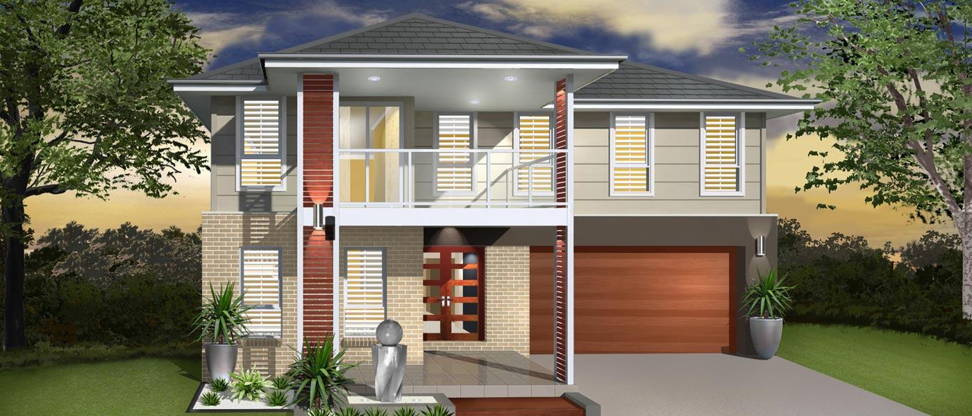 Sea Crest II Home Design - Double Storey   Marksman Homes - Illawarra Home Builder