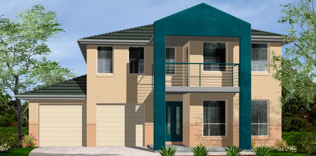 Seychelles Home Design - Double Storey | Marksman Homes - Illawarra Home Builder