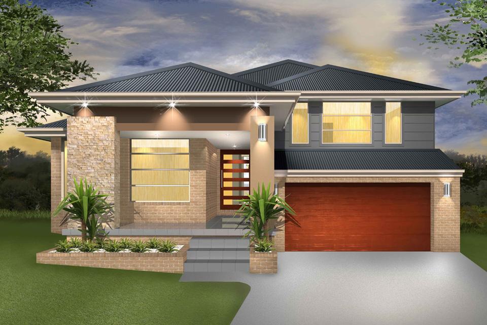 Split Level - Denman Home Design - Facade - Vogue