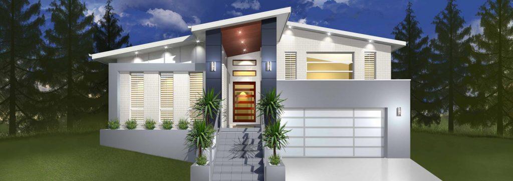 Denman Home Design - Split Level   Marksman Homes - Illawarra Home Builder