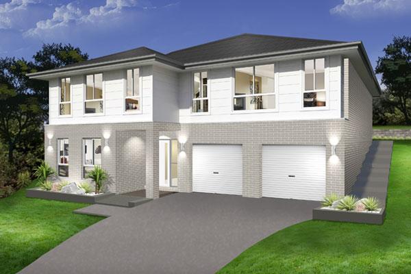 Split Level - Hayman Home Design - Facade - Traditional