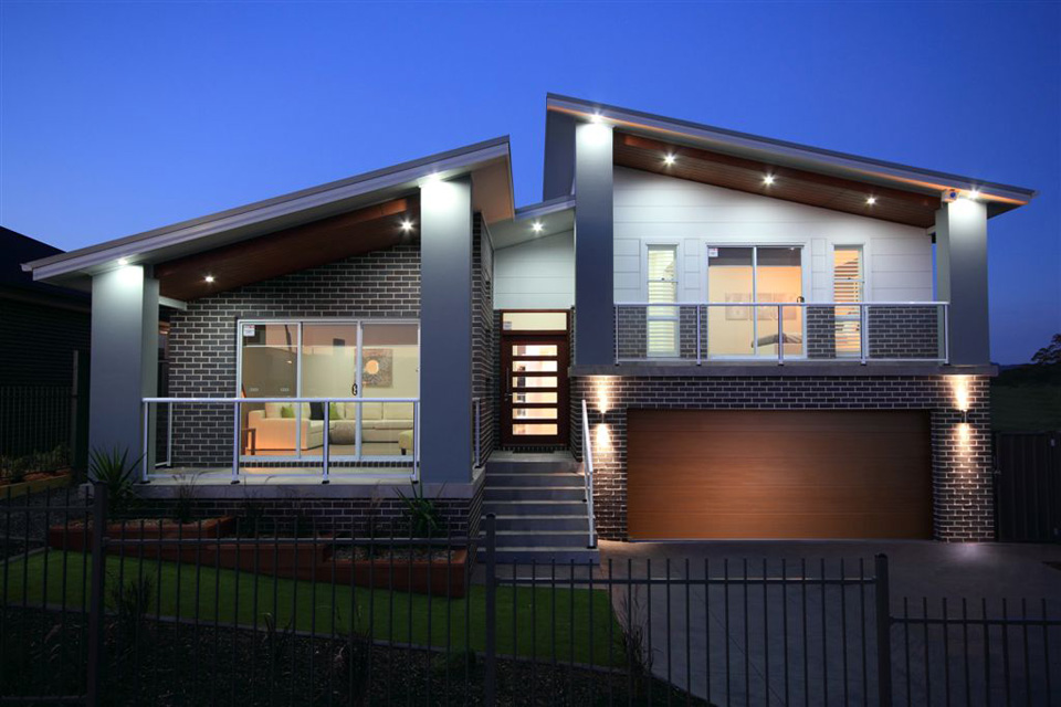 Split Level - Hinchinbrook Home Design - External