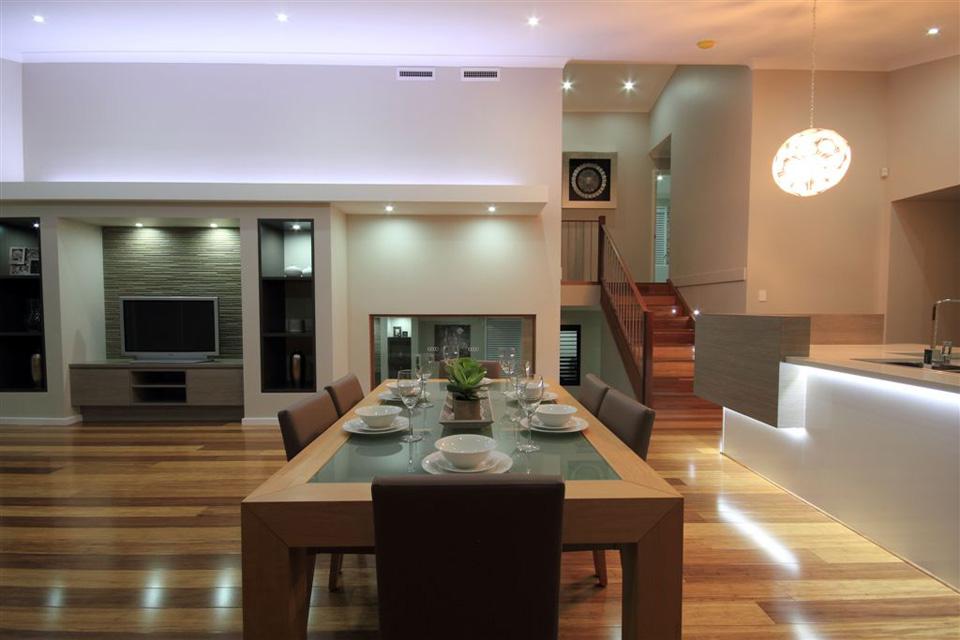 Split Level - Hinchinbrook Home Design - Internal - Dining