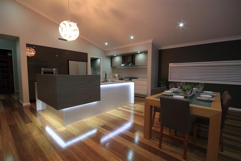 Split Level - Hinchinbrook Home Design - Internal - Kitchen Dining