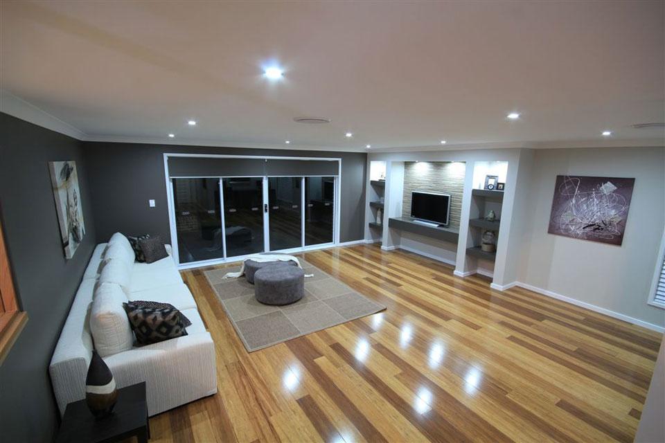 Split Level - Hinchinbrook Home Design - Internal - Living