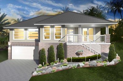 Montbrae Home Design - Split Level   Marksman Homes - Illawarra Home Builder