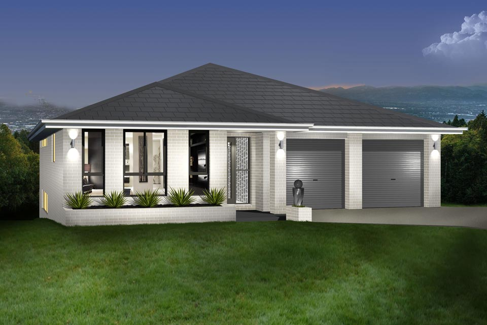 Split Level - Parkview Home Design - Facade - Contemporary