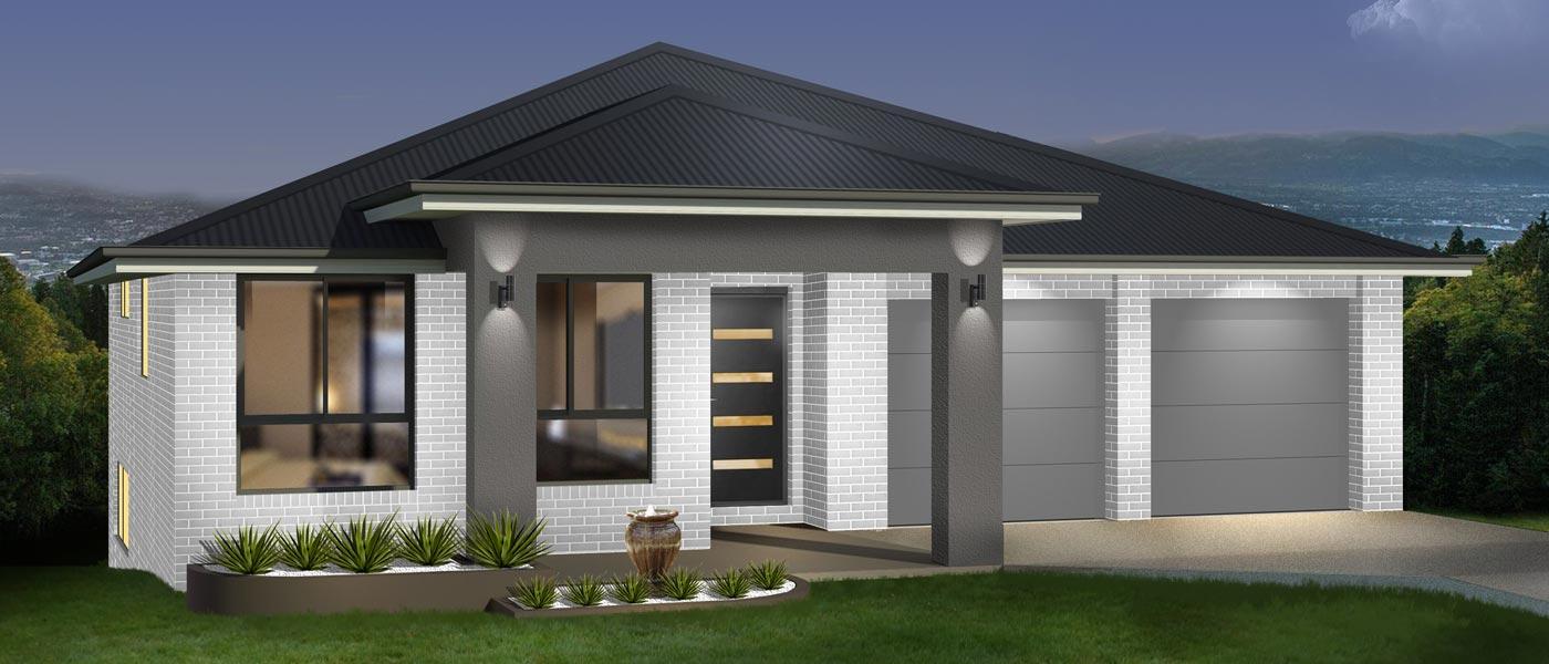 Parkview Home Design - Split Level | Marksman Homes - Illawarra Home Builder