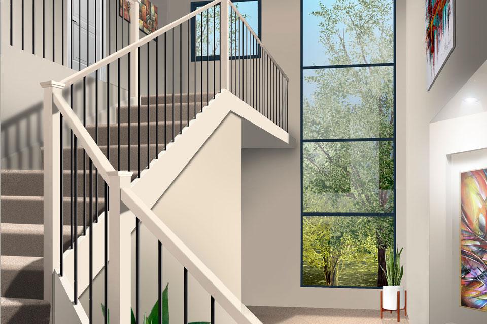 Double Storey - Calais Home Design - Internal