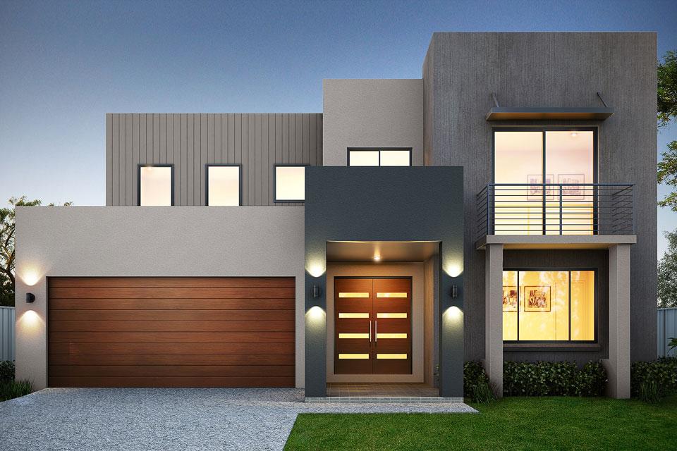 Double Storey - Calais Home Design - Vogue Facade