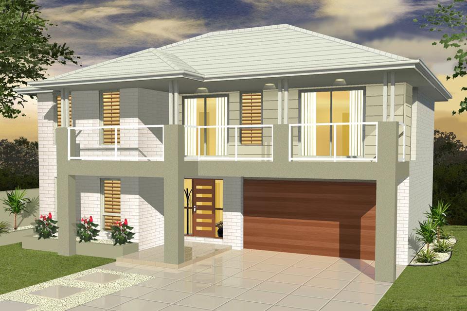 Double Storey - Entertainer Home Design - Facade - Vogue