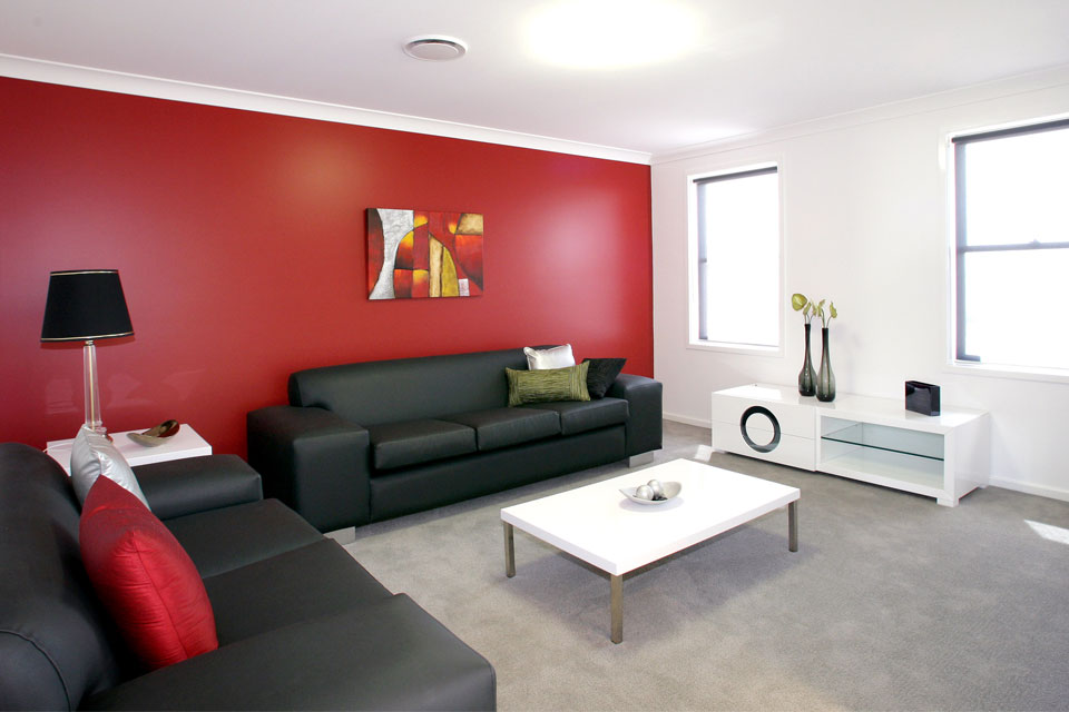 Double Storey - Entertainer Home Design - Internal - Lounge