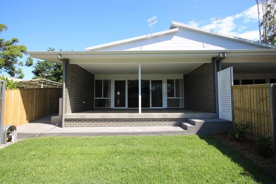 Rear Yard | Dual Occupancy - Duplex | Marksman Homes
