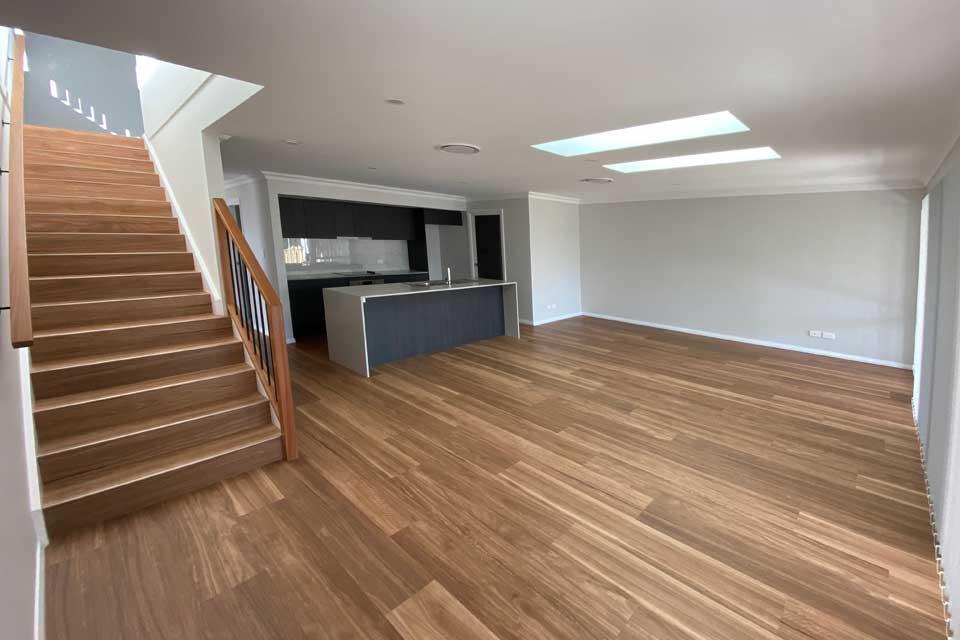 Living Area | Dual Occupancy - Duplex | Marksman Homes