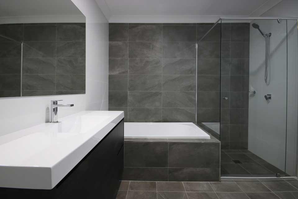 Bathroom | Dual Occupancy - Duplex | Marksman Homes