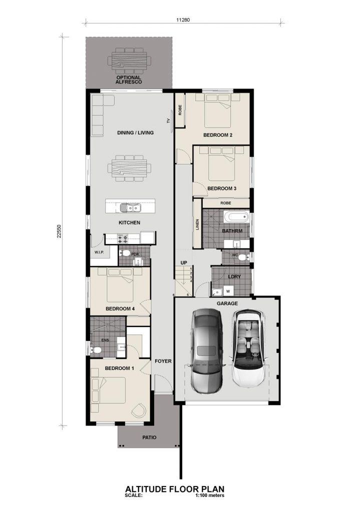 Floorplan - Altitude Home Design   Split Level Inspirations Range